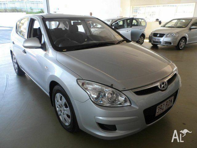 2010 Hyundai i30 Silver Automatic Hatchback