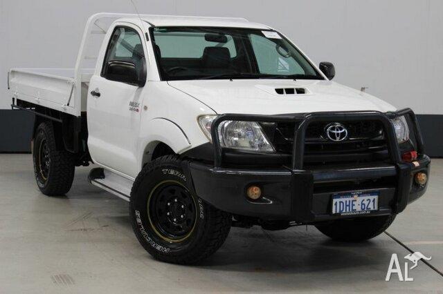 2010 toyota hilux kun26r 09 upgra sr 4x4 white low kms 5 speed rh bentley wa australialisted com 1980 Toyota Hilux 2016 Toyota Hilux