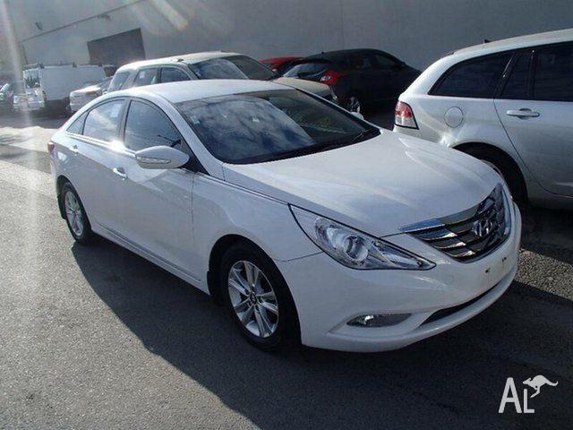 2011 Hyundai i45 YF MY11 Active Pure White 6 Speed