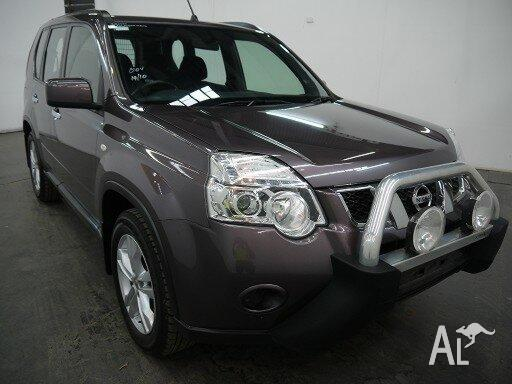 2011 Nissan X-Trail T31 MY11 ST (4X4) Purple 6 Speed