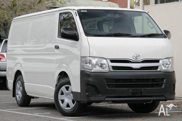 2011 Toyota Hiace TRH201R MY11 LWB French Vanilla 5