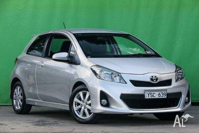 2011 Toyota Yaris NCP131R ZR 5 Speed Manual Hatchback