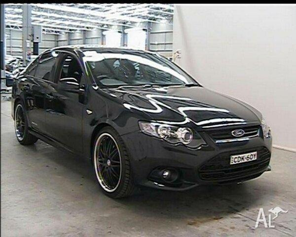 2012 Ford Falcon FG Upgrade XR6 Black 6 Speed Auto Sequential Sedan