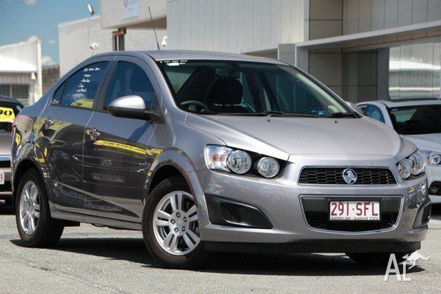 2012 Holden Barina TM Urban Grey 6 Speed Automatic