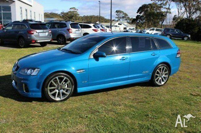 2012 Holden Commodore VE II MY12 SS V Sportwagon Blue 6