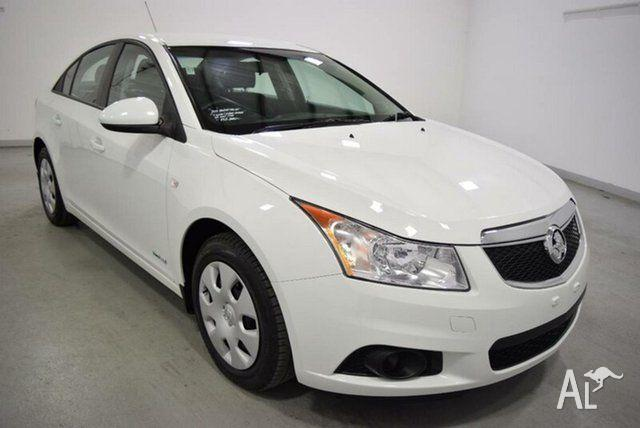 2012 Holden Cruze JH MY12 CD White 6 Speed Automatic