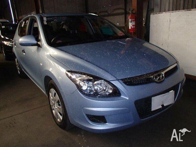 2012 Hyundai i30 FD MY12 SX Silver 4 Speed Automatic