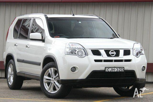 2012 Nissan X-Trail T31 Series 5 ST-L (FWD) White