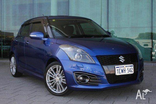 2012 Suzuki Swift FZ Sport Blue 7 Speed Constant