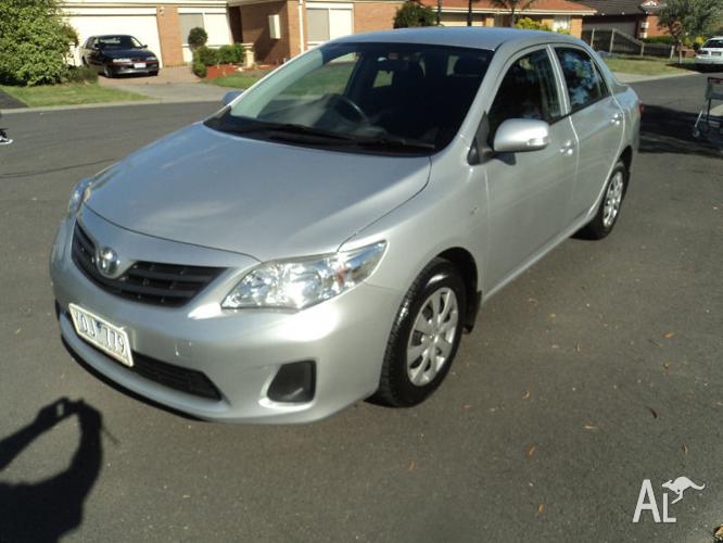 2012 Toyota Corolla Sedan, AUTOMATIC, reg 8 months,