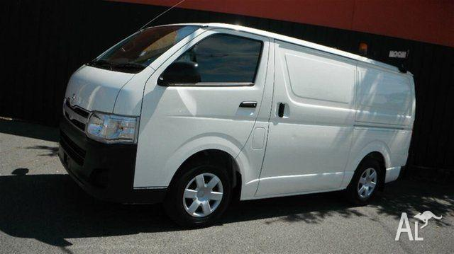2012 Toyota Hiace TRH201R MY12 Upgrade LWB Whitelow
