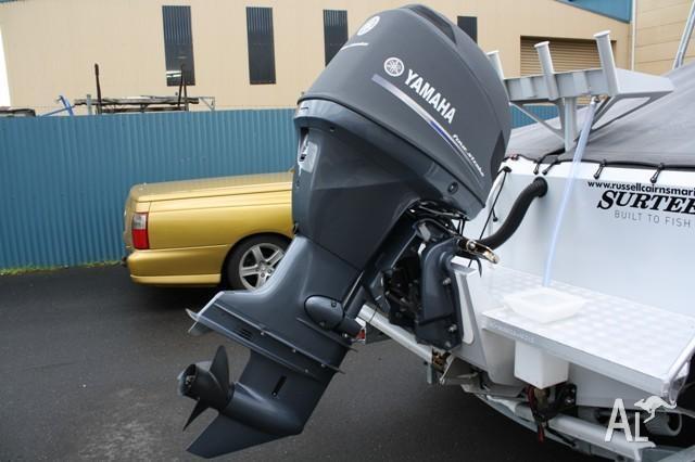 2012 Yamaha F115AETX 4 Stroke Outboard Motor &