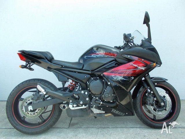 2012 Yamaha FZ6R 600CC Sports