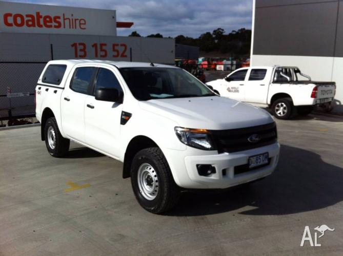 2013 Ford Ranger XL 4x4 Dual Cab Manual with Canopy & 2013 Ford Ranger XL 4x4 Dual Cab Manual with Canopy for Sale in ...