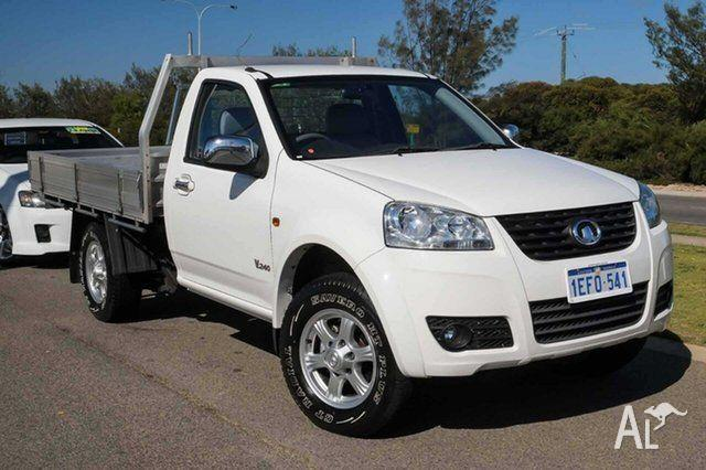 2013 Great Wall V240 K2 MY13 4x2 White 5 Speed Manual