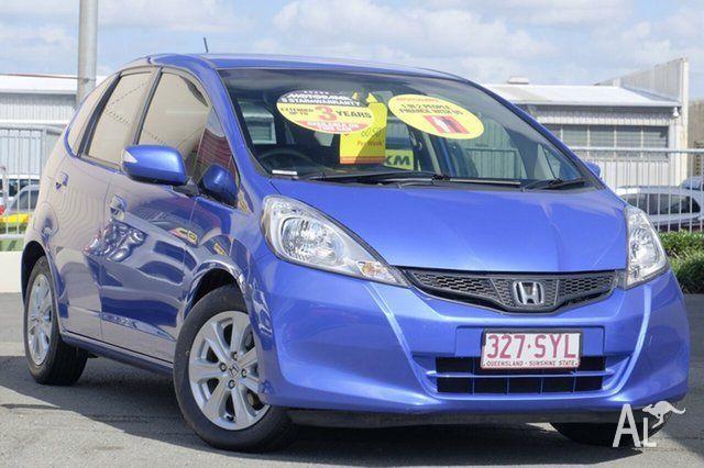 2013 Honda Jazz GE MY13 Vibe Blue 5 Speed Manual