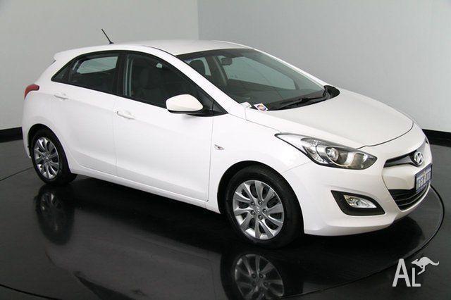 2013 Hyundai i30 GD Active Creamy White 6 Speed Auto