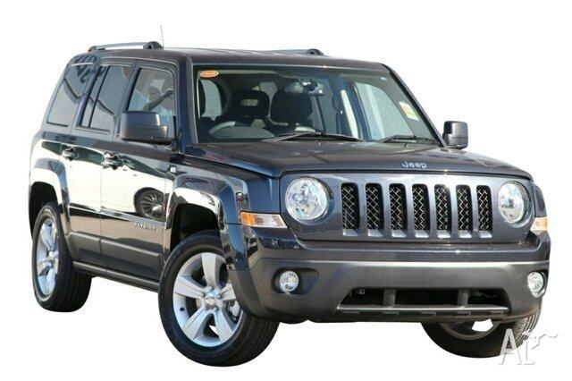 2013 Jeep Patriot MK MY14 Limited Maximum Steel 6 Speed