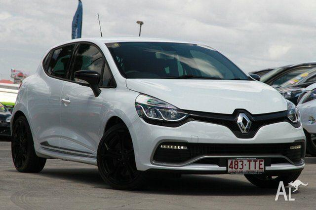 2013 Renault Clio X98 Series IV R.S. 200 White 6 Speed