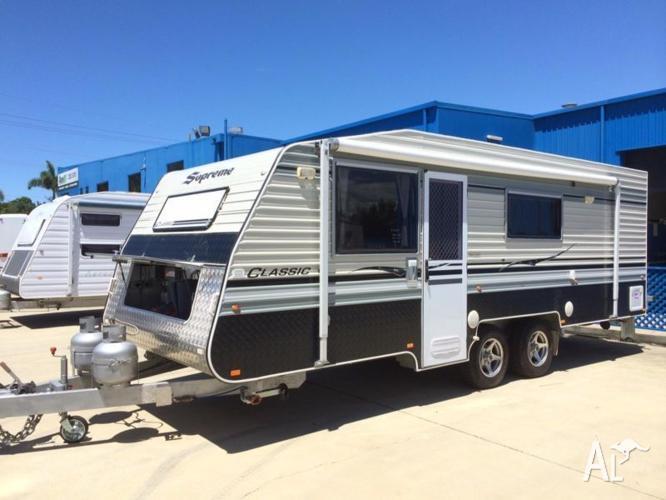 2013 Supreme Classic Ensuite Family Bunk Caravan