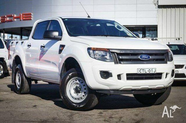2014 Ford Ranger PX XL Double Cab 4x2 Hi-Rider Cool