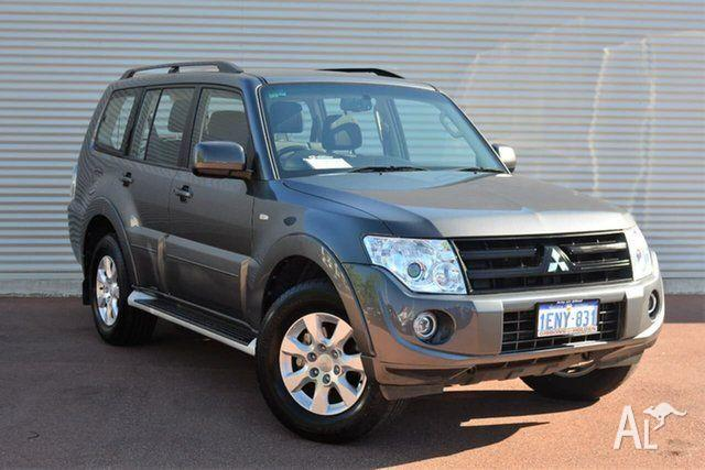 2014 Mitsubishi Pajero NW MY14 GLX-R Grey 5 Speed