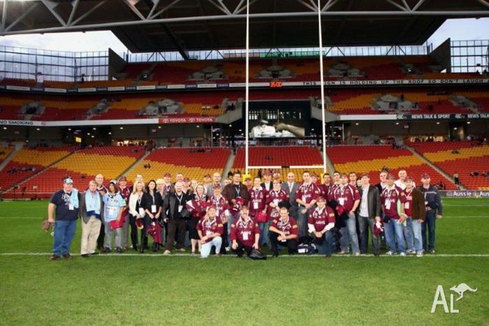 2014 state of origin game 3 ticket corporate package brisbane for