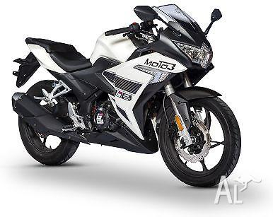 2015 Braaap MOTO3 250cc LAMS Approved Motorcycle