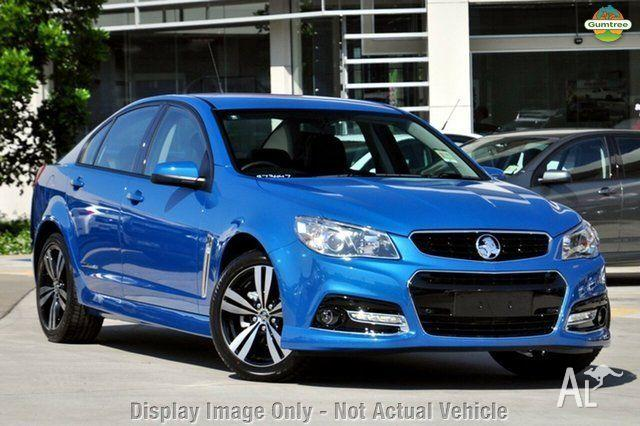 2015 Holden Commodore Vf My15 Sv6 Storm Blue 6 Speed Sports