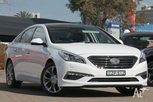 2015 Hyundai Sonata LF Premium Ice White 6 Speed
