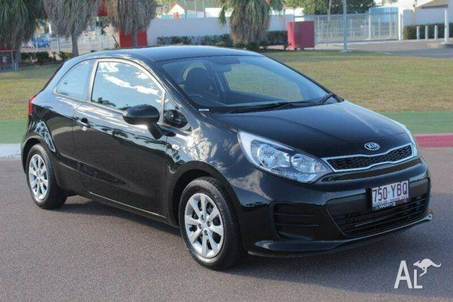 2015 Kia Rio UB MY15 S Black 4 Speed Sports Automatic