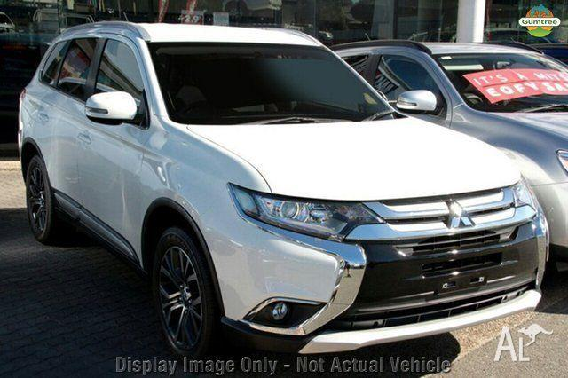 2015 Mitsubishi Outlander ZK MY16 LS 4WD White 6 Speed