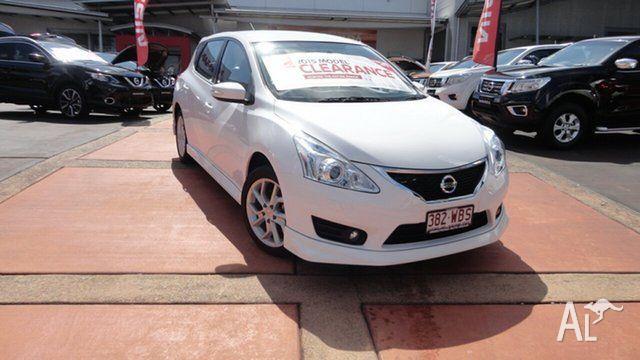 2015 Nissan Pulsar C12 Series 2 SSS Polar White 1 Speed