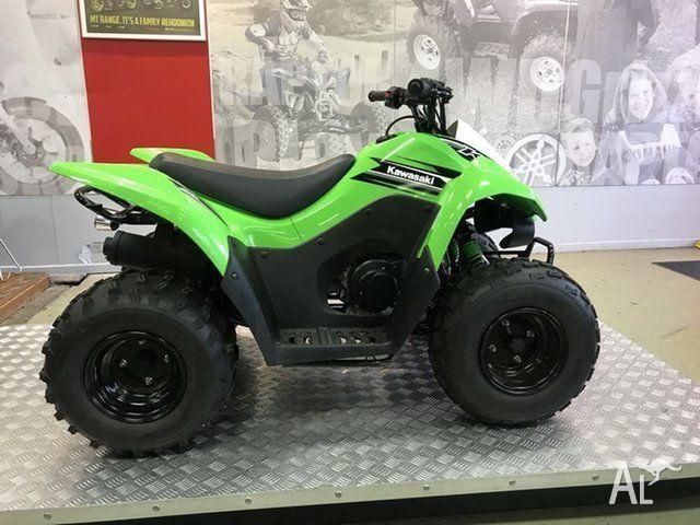 2016 Kawasaki KFX90 (ksf90) Atv 90cc