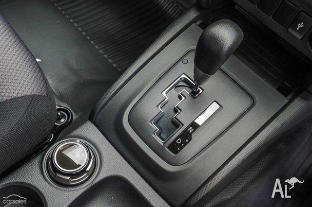 2016 Mitsubishi Triton MQ MY16 GLX (4x4) Sterling