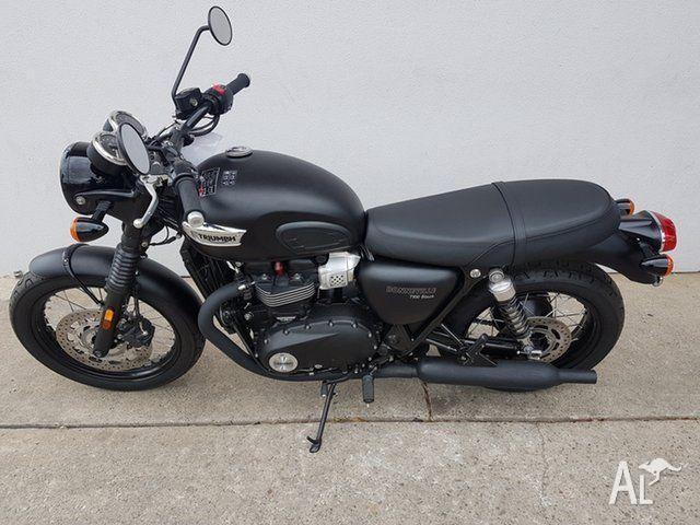 2016 Triumph Bonneville T100 Black 865CC