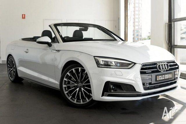2017 Audi A5 F5 MY17 Sport S tronic quattro White 7