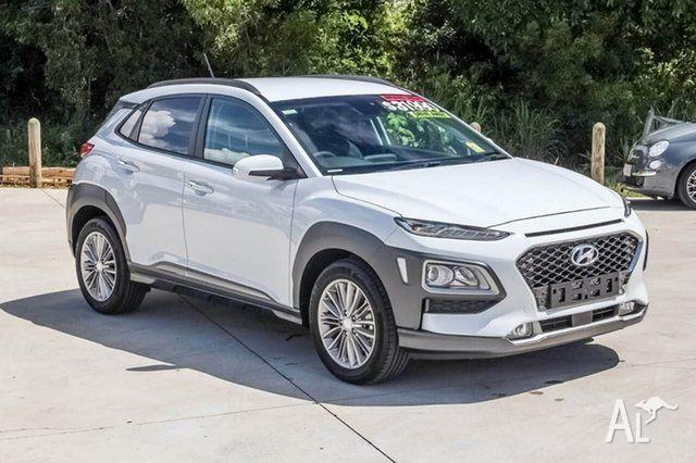 2017 Hyundai Kona OS MY18 Elite D-CT AWD Chalk White 7