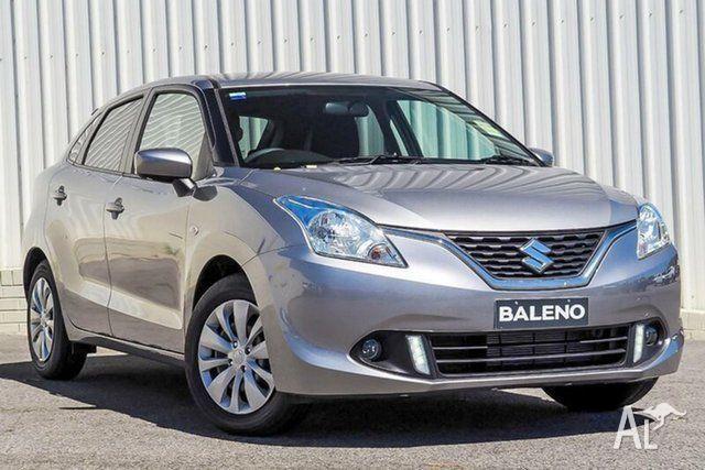 2018 Suzuki Baleno MY16 GL Premium Silver 5 Speed