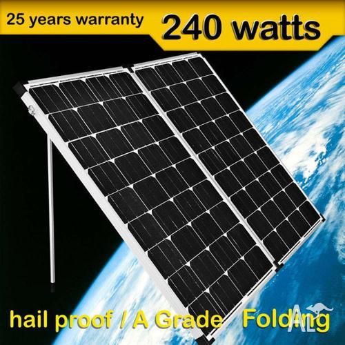 240w portable foldable solar panels