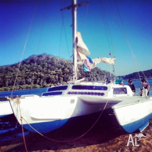 27ft trimaran for sale - $3900 - live aboard - adventure