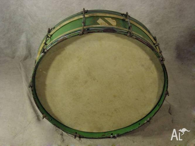 28in x 7in Deep, Vintage Marching Bass Drum [DE 0160]