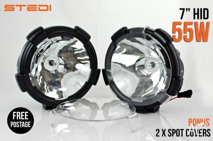 2×55W 7INCH HID XENON DRIVING LIGHT 9-32v 4X4 4WD UTE