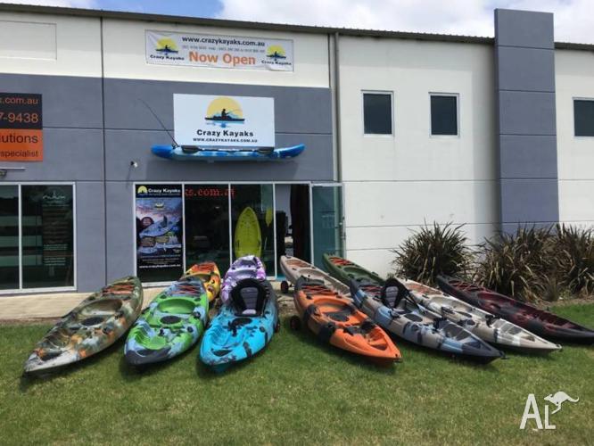 2.7m Single Kayaks - 5 years Warranty - UV Treated -