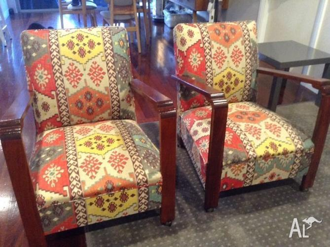 2 Artdeco Art Deco Radiochairs Armchairs Chairs For Sale In Beaconsfield Western Australia
