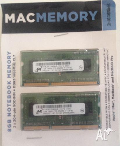 2 GB DDR3 laptop ram