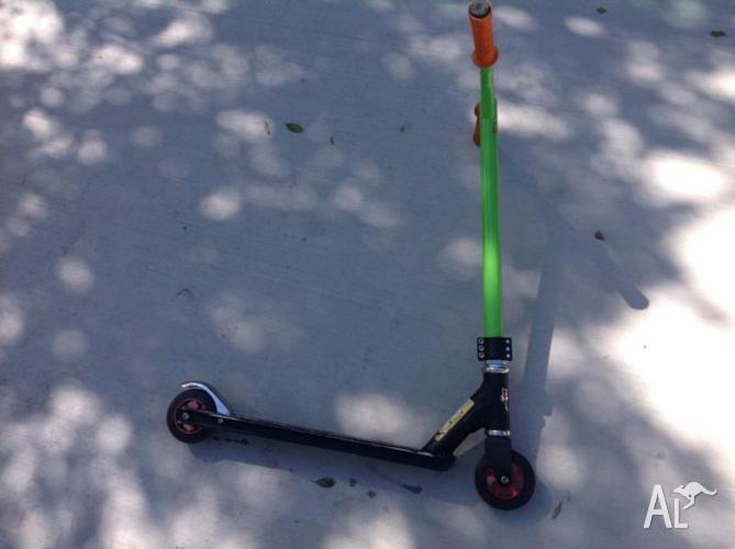 2 razor black label pro scooter customized