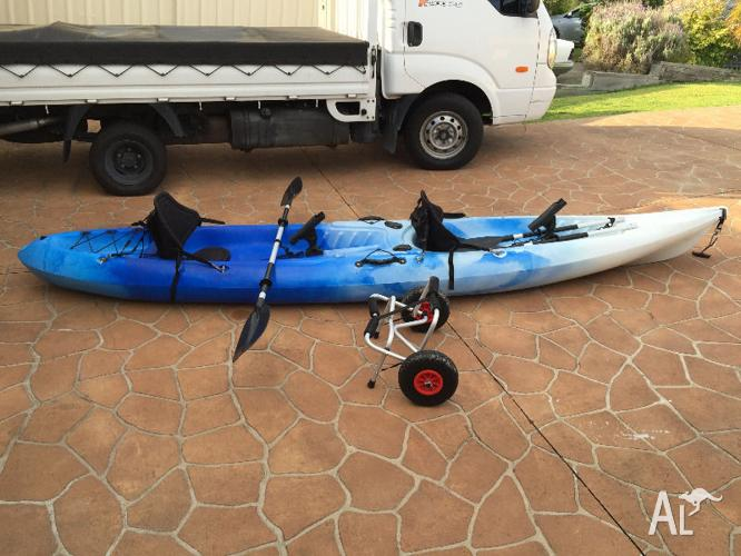 2 Seater Ocean River Kayak Fishing Family Fun