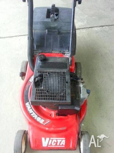 2 stroke victa lawn mower