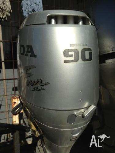 2 x 90Hp 4 Stroke Honda Outboard Motor- sold as pair or